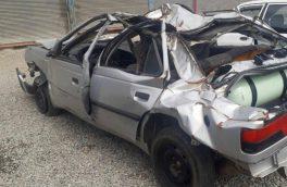 بی توجهی به ایست پلیس در بستک حادثه آفرید