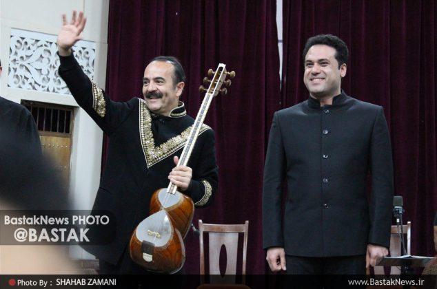 کنسرت گروه موسیقی وزیری در بستک