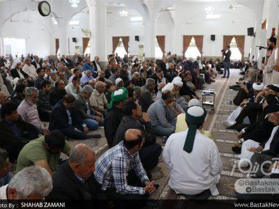 مراسم ختم بخش مرحوم آقا سیدمحمدعقیل قتالی در جناح برگزار شد