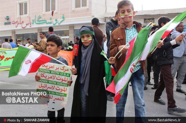 حماسه حضور / راهپیمایی باشکوه ۲۲ بهمن در بستک