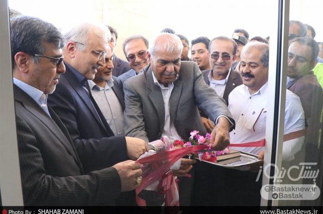 افتتاح مرکز سی تی اسکن بیمارستان فارابی بستک با حضور وزیر بهداشت