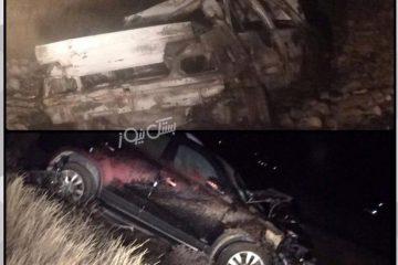 حادثه دلخراش تصادف در حدفاصل روستای فتویه ۴ فوتی و ۲ زخمی بر جای گذاشت