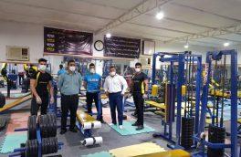 بازدید سرزده رئیس اداره ورزش جوانان و رئیس هیات بدنسازی از باشگاهای شهرستان بستک