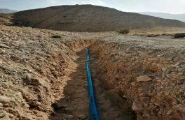 پیشرفت ۸۵ درصدی آبرسانی به روستای زنگارد بستک