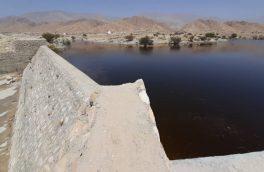 آبگیری ۳۰۰ هزار متر مکعبی سد کوخرد