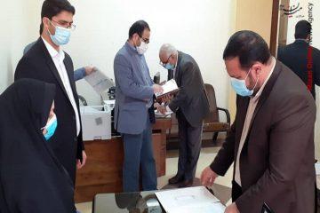 بازدید از پیش اعلام نشده رییس کل دادگستری استان هرمزگان از حوزه قضایی شهرستان بستک