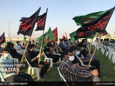 پیاده روی جاماندگان اربعین حسینی در جناح