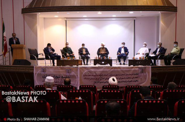 برگزاری اولین جلسه شورای اداری شهرستان بستک در سال ۹۹