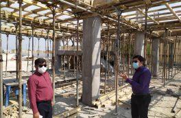 دو پروژه در حال ساخت شهر جناح پیشرفت مناسبی دارد