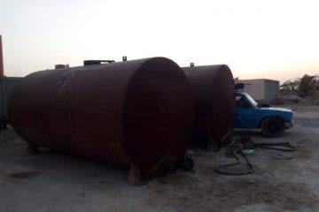 کشف ۱۵۵۰۰ لیتر سوخت قاچاق نفت سفید در شهرستان بستک