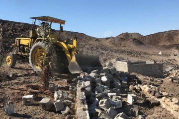 رفع تصرف ۴۰۰ متر مربع از اراضی ملی در زنگارد