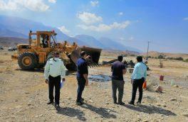 آزادسازی یک هکتار از اراضی ملی روستای بستقلات