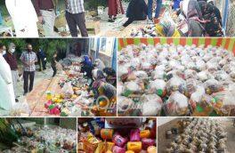 توزیع بیش از هزار بسته مواد غذایی کمک مومنانه بین نیازمندان شهرستان بستک